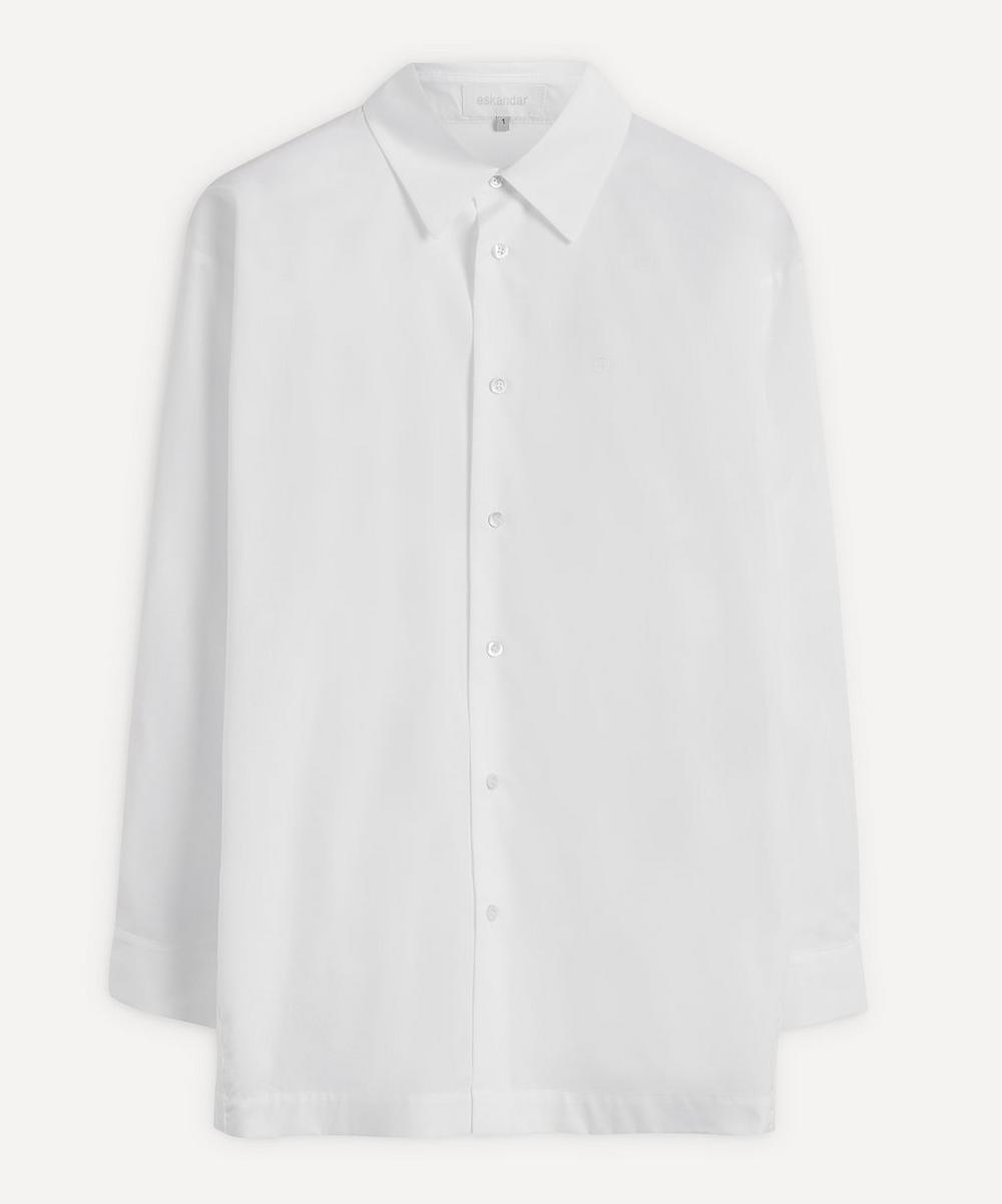 Eskandar - Slim A-Line Shirt