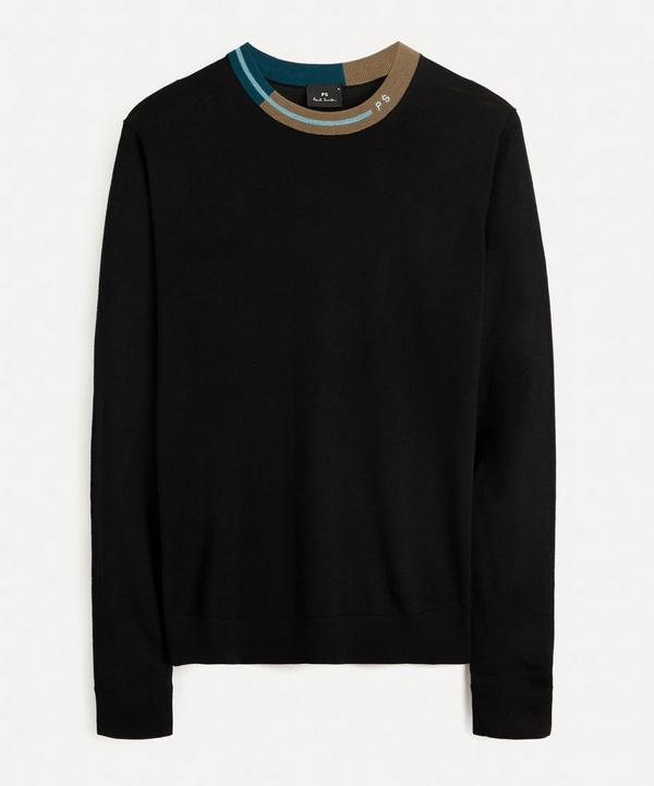 PS Paul Smith - Coloured Collar Sweater