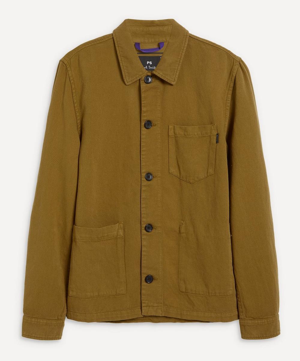 PS Paul Smith - Linen-Blend Chore Jacket
