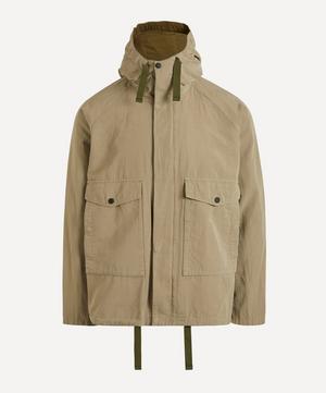 Cotton-Linen Hooded Jacket