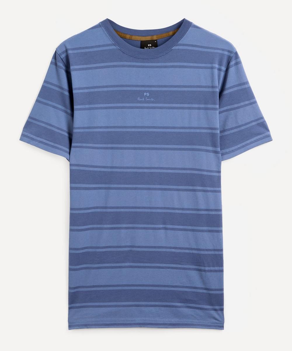 PS Paul Smith - Stripe Small Logo T-Shirt