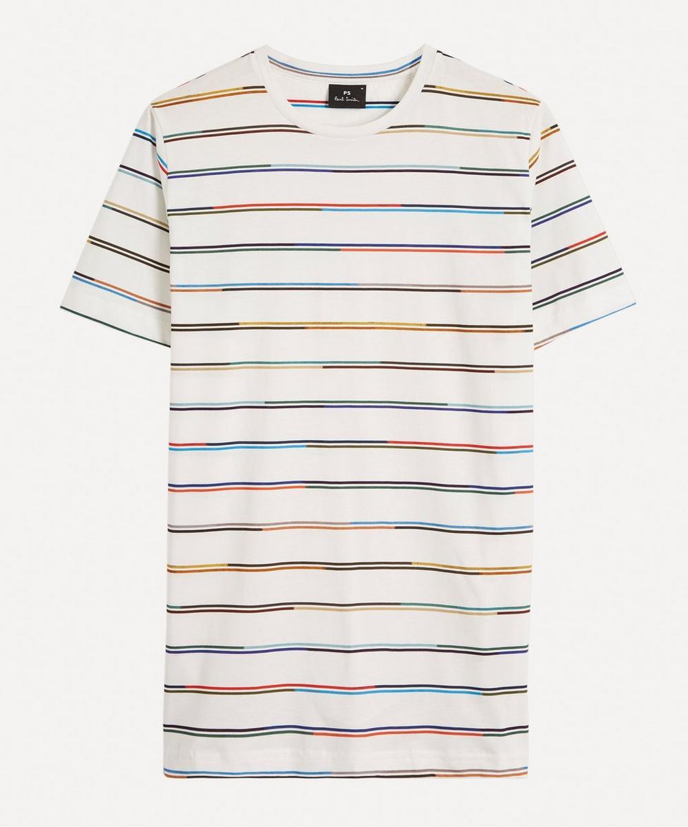 PS Paul Smith - Championship Stripe Cotton T-Shirt