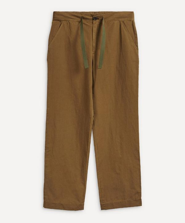 PS Paul Smith - Drawcord Wide-Leg Trousers