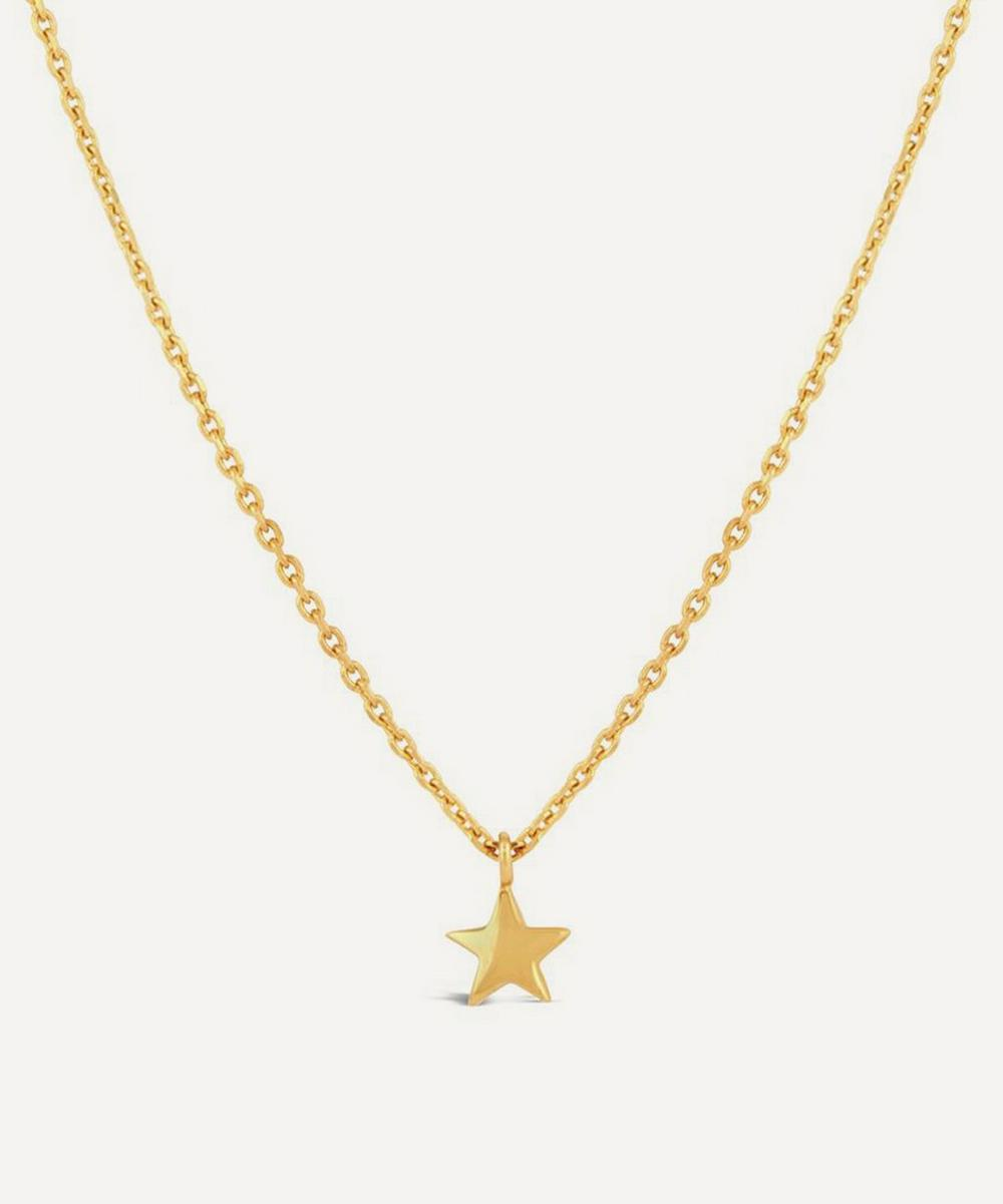 Dinny Hall - Gold Plated Vermeil Silver Bijou Mini Star Pendant Necklace