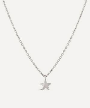 Sterling Silver Bijou Mini Star Pendant Necklace