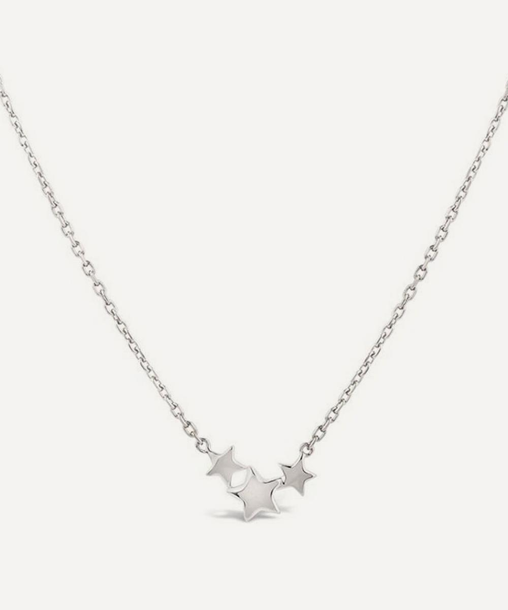Dinny Hall - Sterling Silver Bijou Trio Scoop Star Pendant Necklace