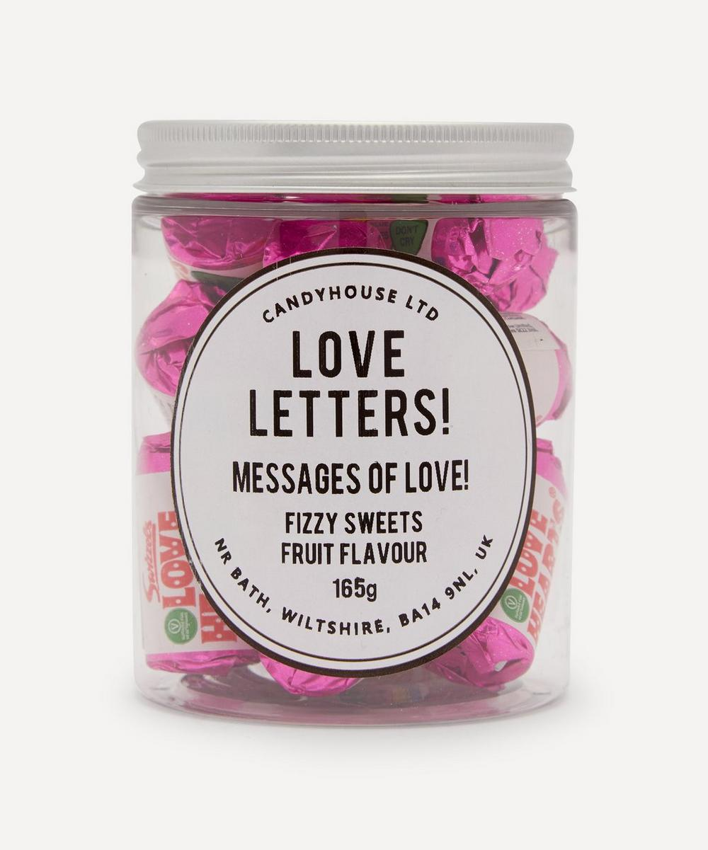 Candyhouse - Love Letters Fruit Flavoured Fizzy Sweets 165g
