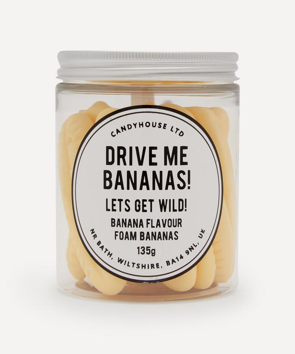 Candyhouse - Drive Me Bananas Sweet Jar 135g