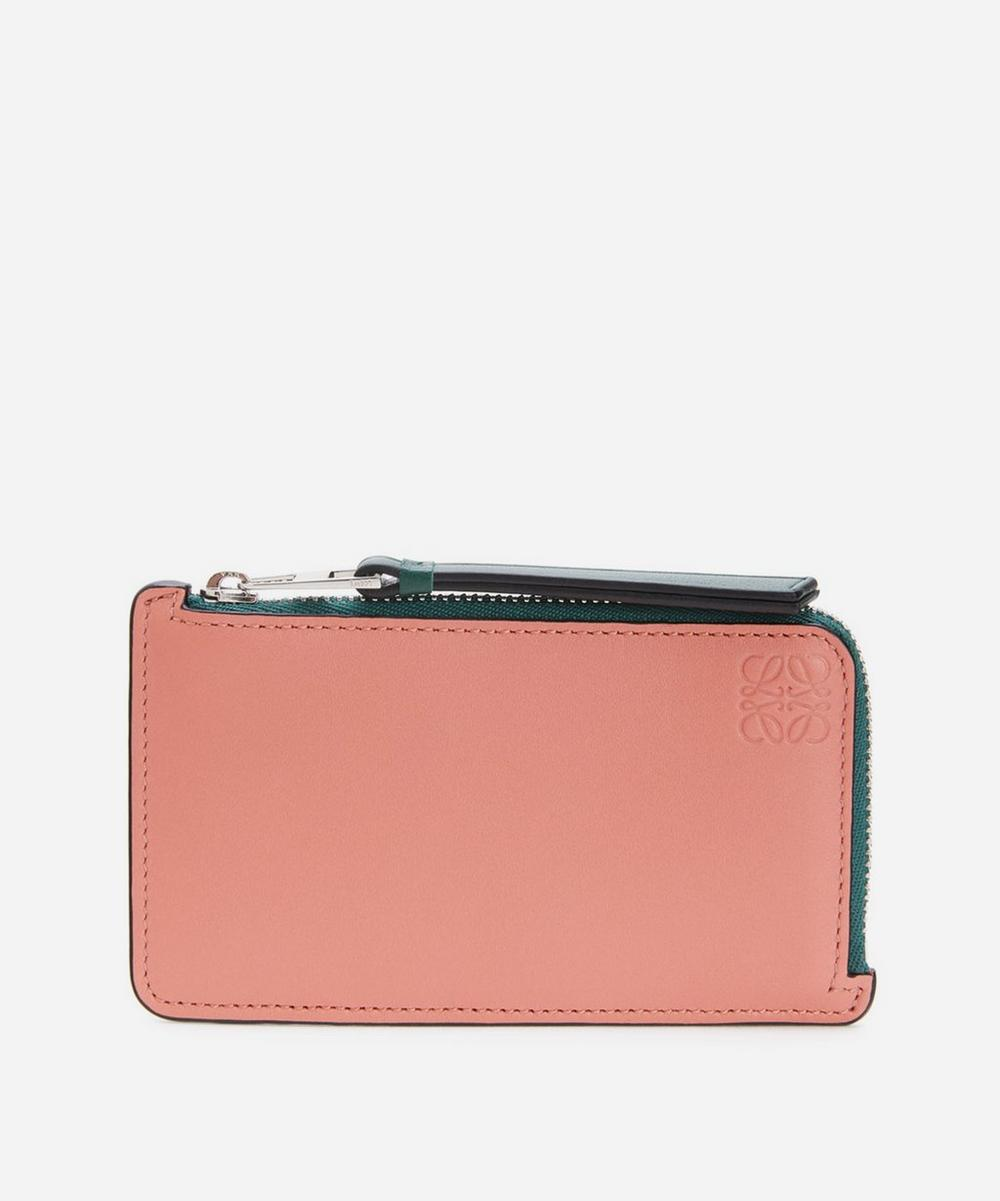 Loewe - Leather Multicolour Coin Card Holder