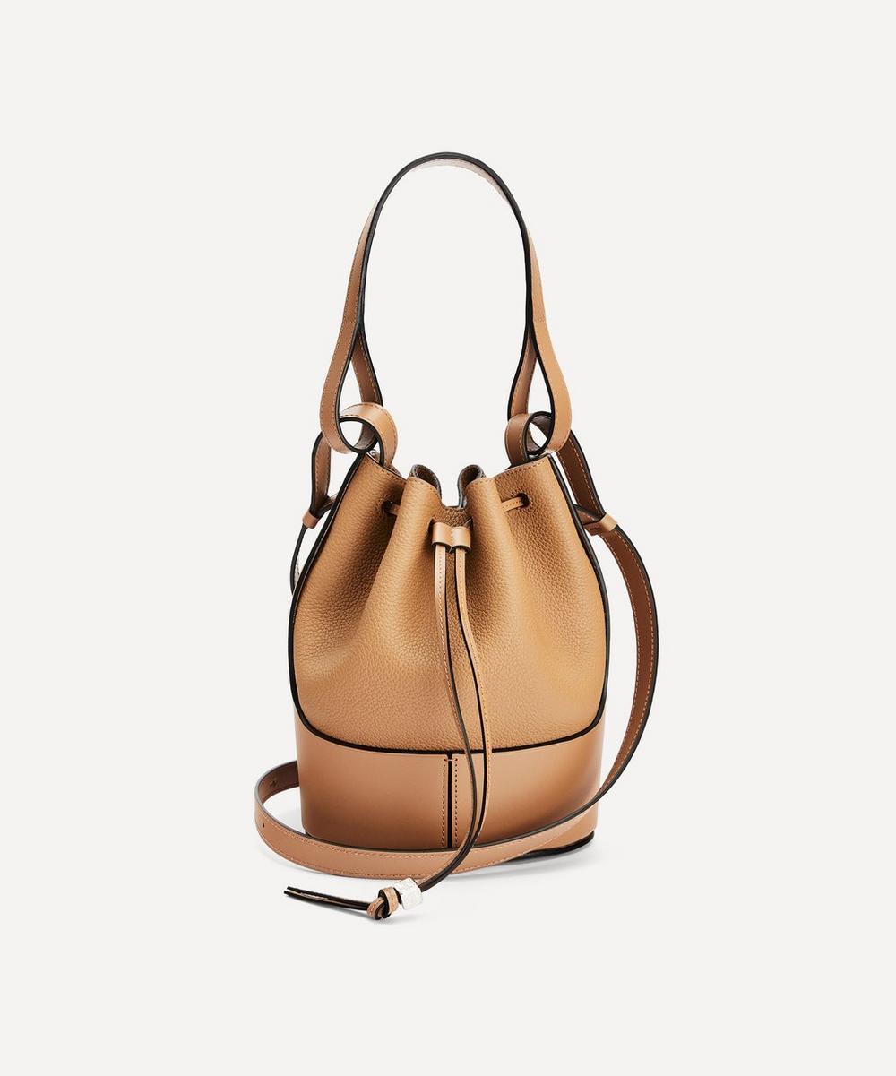 Loewe - Small Balloon Leather Bucket Bag