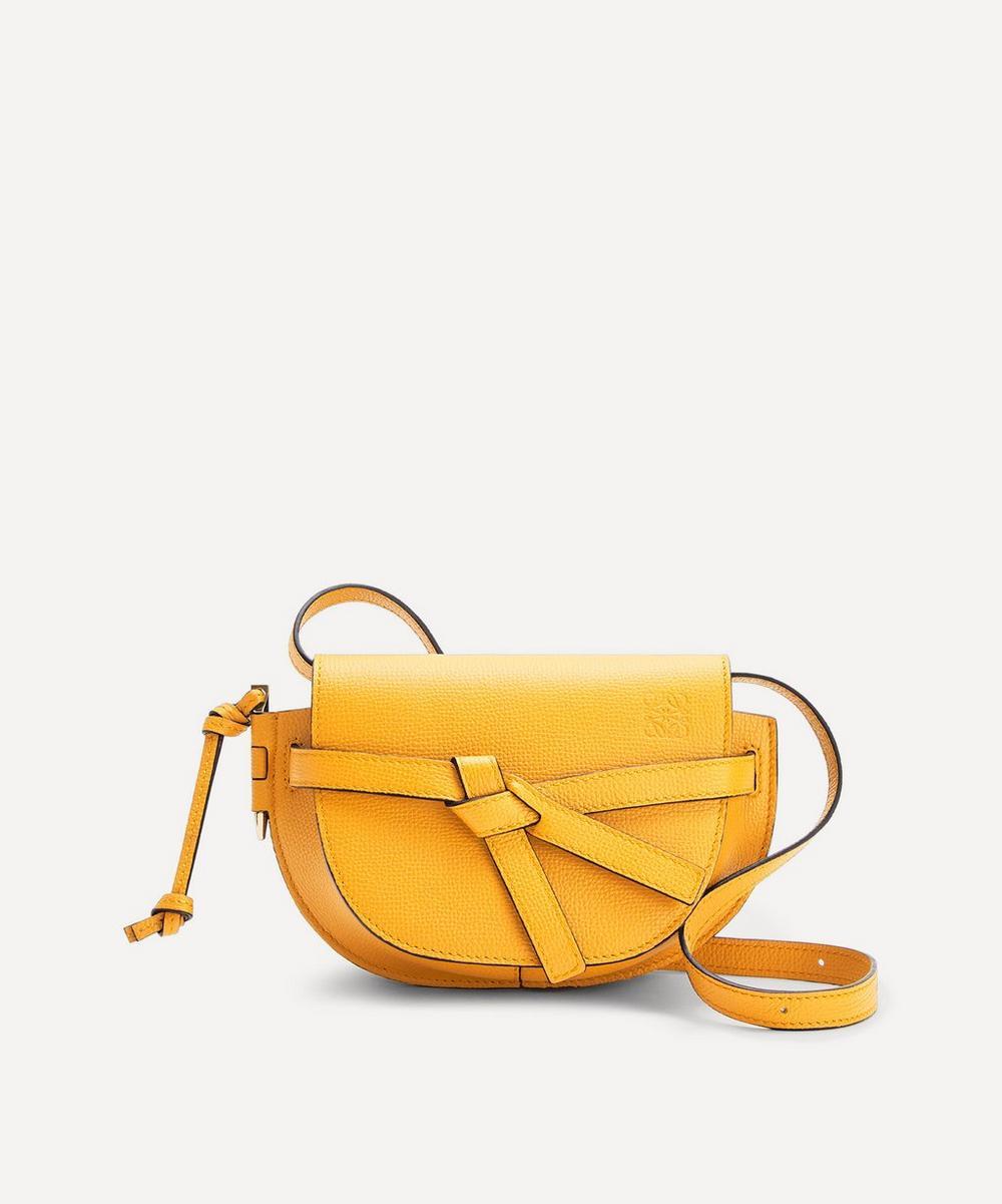 Loewe - Mini Gate Leather Dual Cross-Body Bag