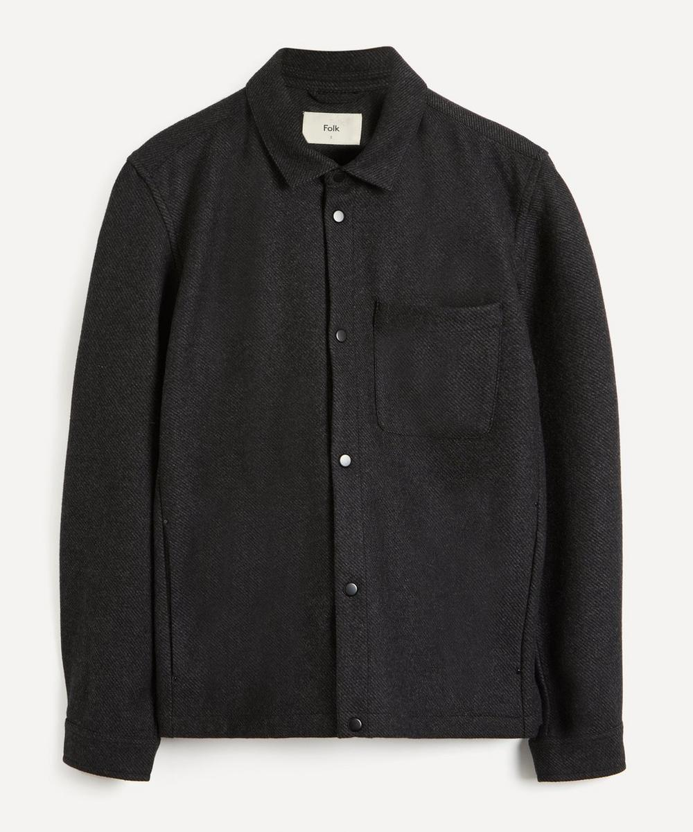 Folk - Orb Wool-Blend Twill Jacket