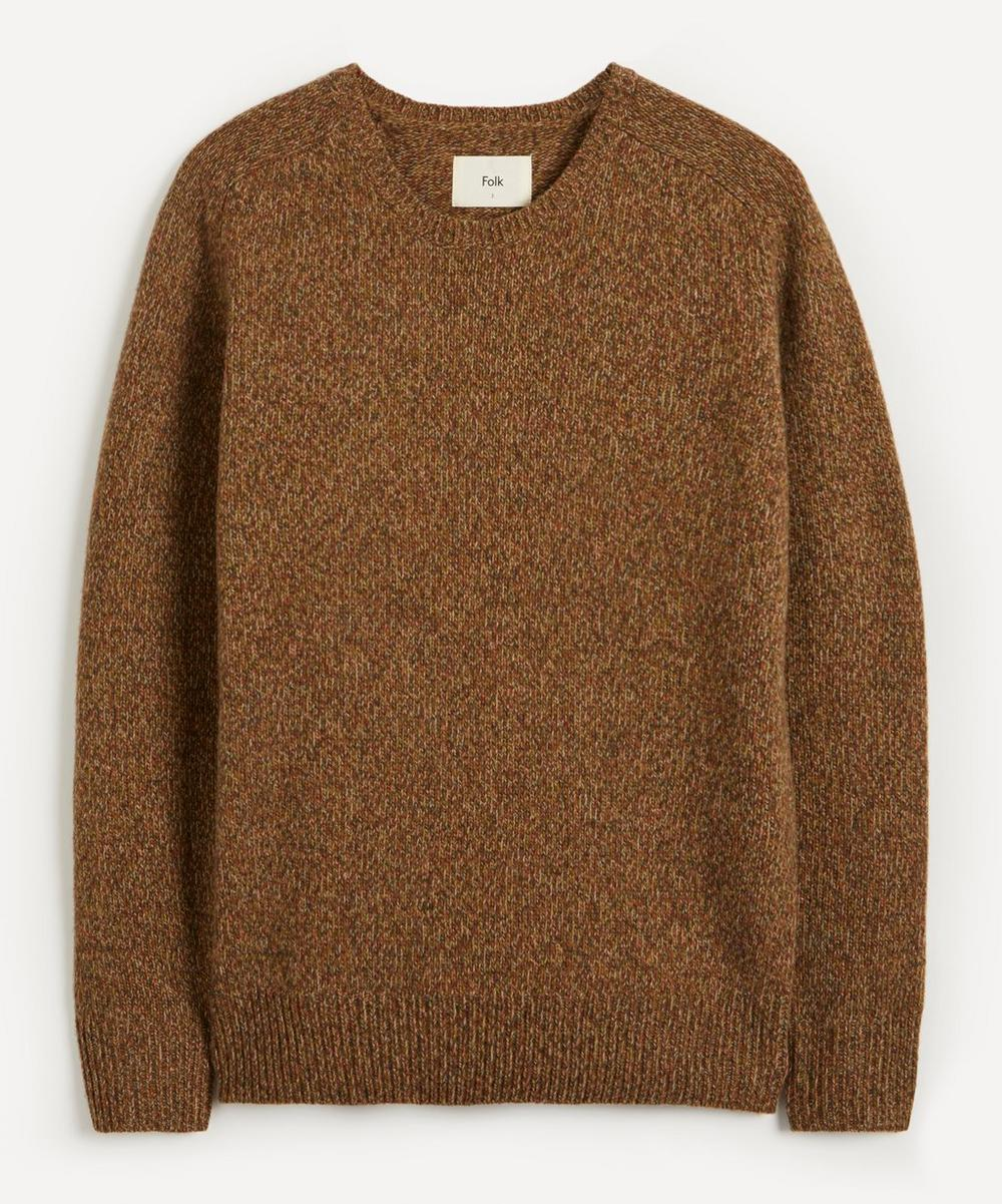 Folk - Boxy Patrice Marl Merino Wool Jumper