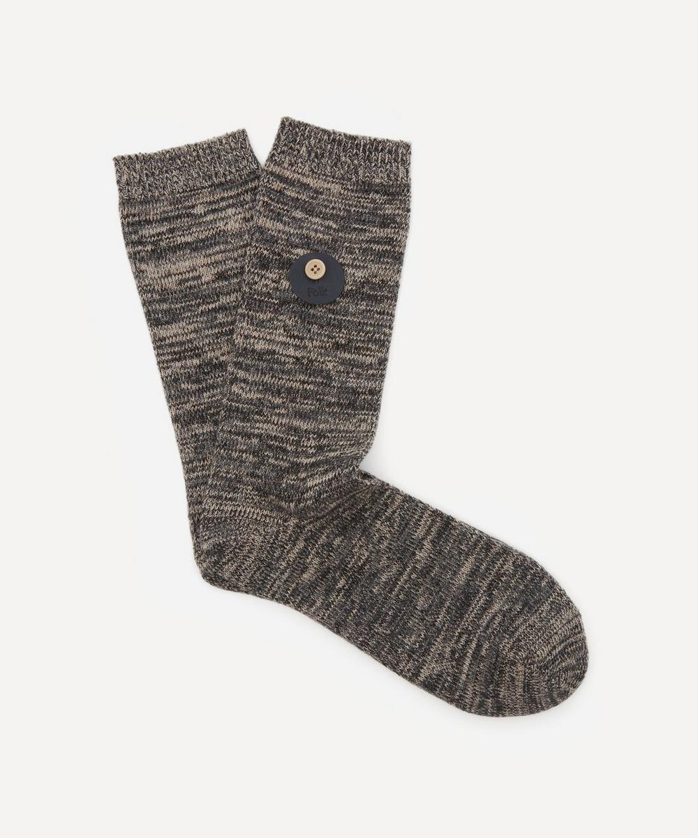 Folk - Melange Socks