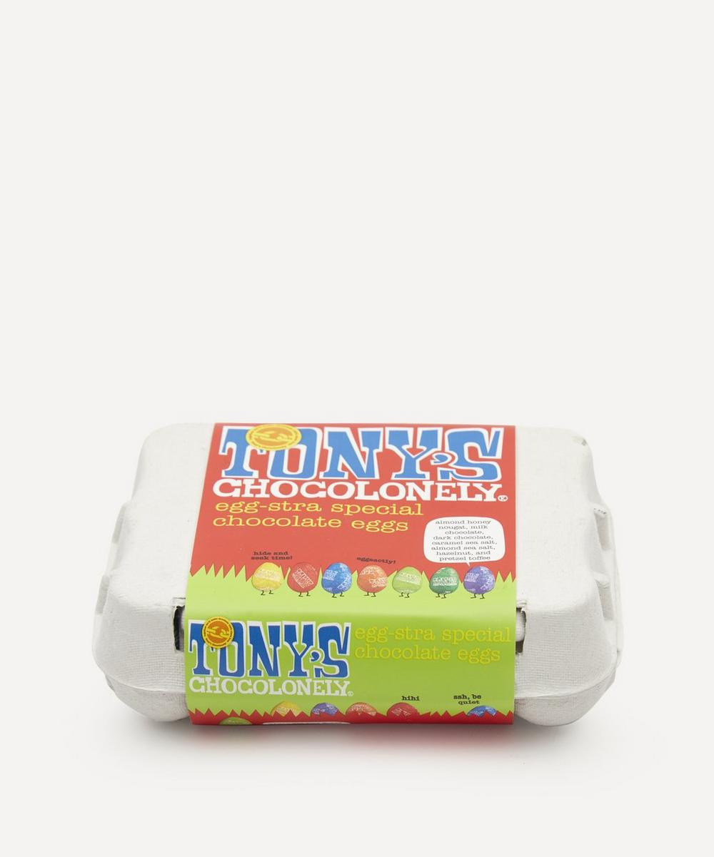 Tony's Chocolonely - Easter Egg Assortment Box of 12 150g