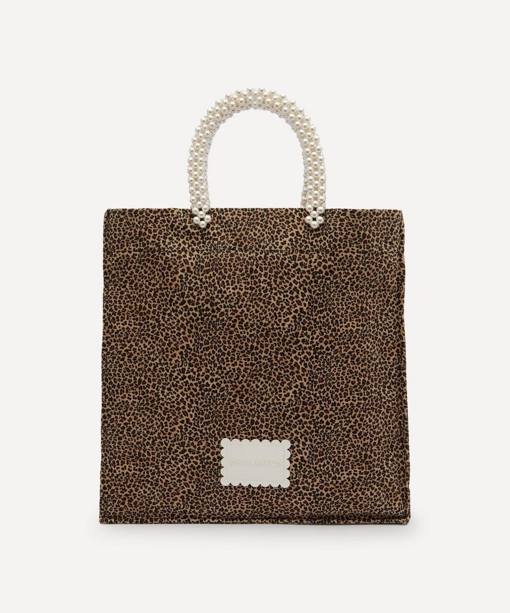 Shrimps - Basil Cotton-Blend Tote Bag