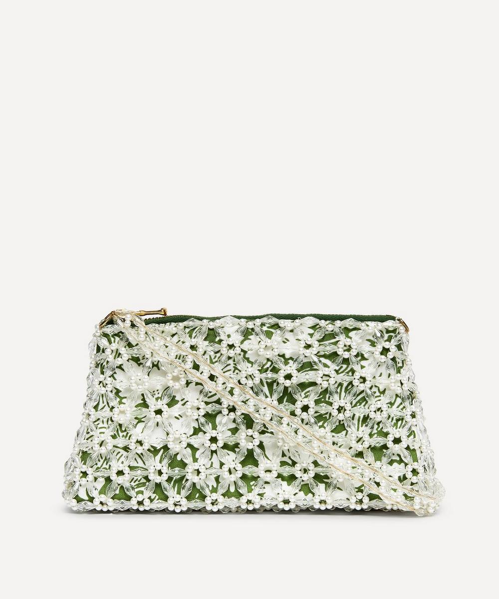 Shrimps - Dawson Floral Beaded Handbag