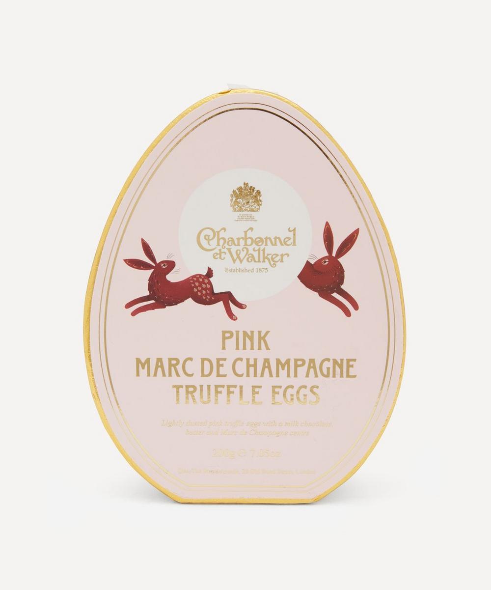 Charbonnel et Walker - Pink Marc de Champagne Egg-Shaped Truffles 200g