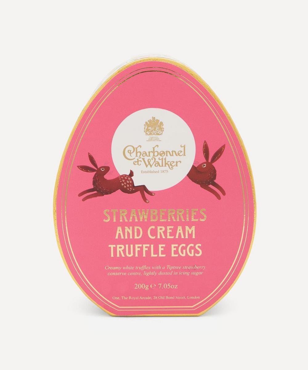 Charbonnel et Walker - Strawberries and Cream Egg-Shaped Truffles 200g