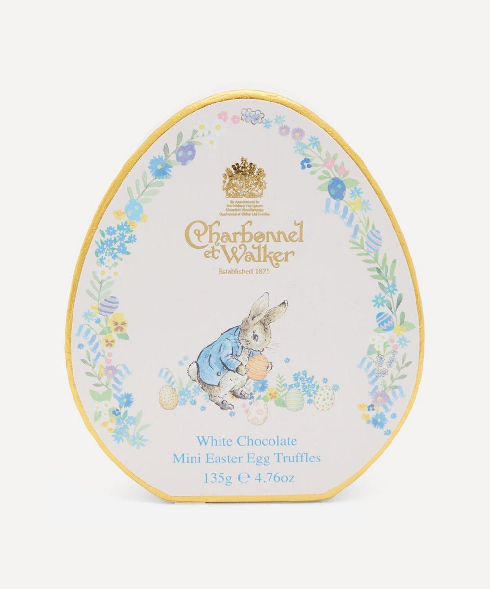 Charbonnel et Walker - Peter Rabbit White Chocolate Mini Egg-Shaped Truffles 135g