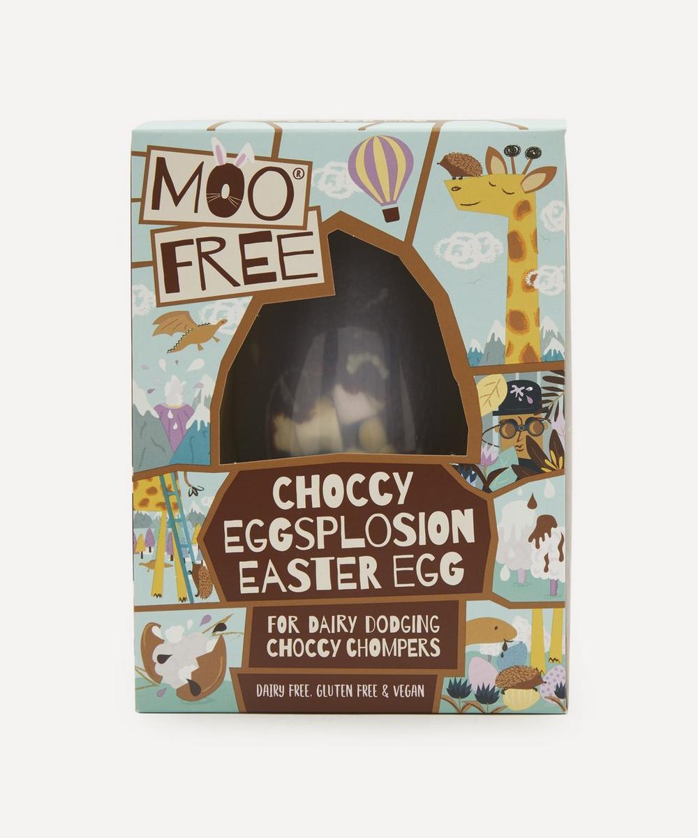 Moo Free - Dairy Free Choccy Eggsplosion Egg 80g