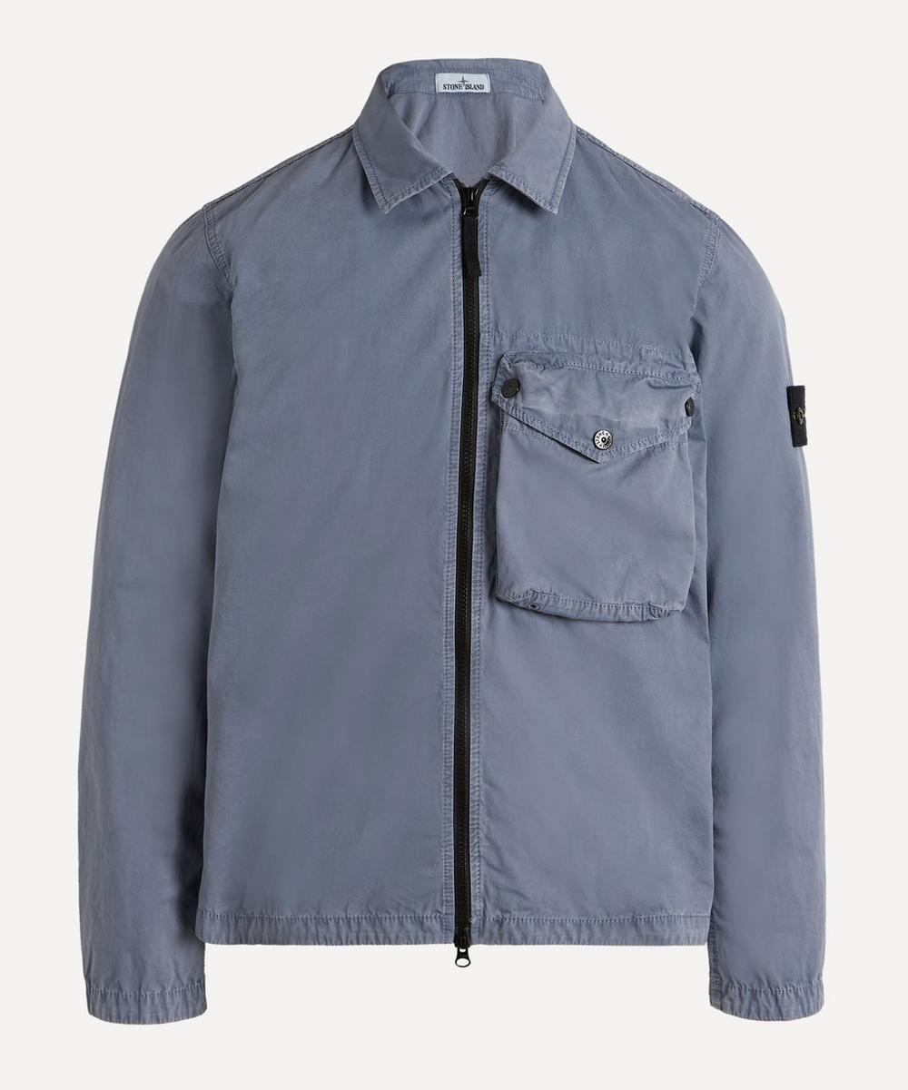 Stone Island - Zip-Up Pocket Overshirt