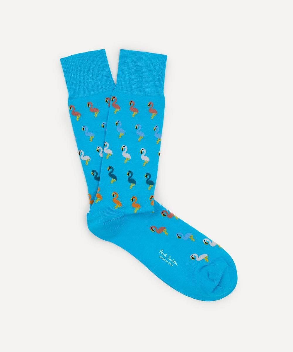 Paul Smith - Rio Flamingo Socks