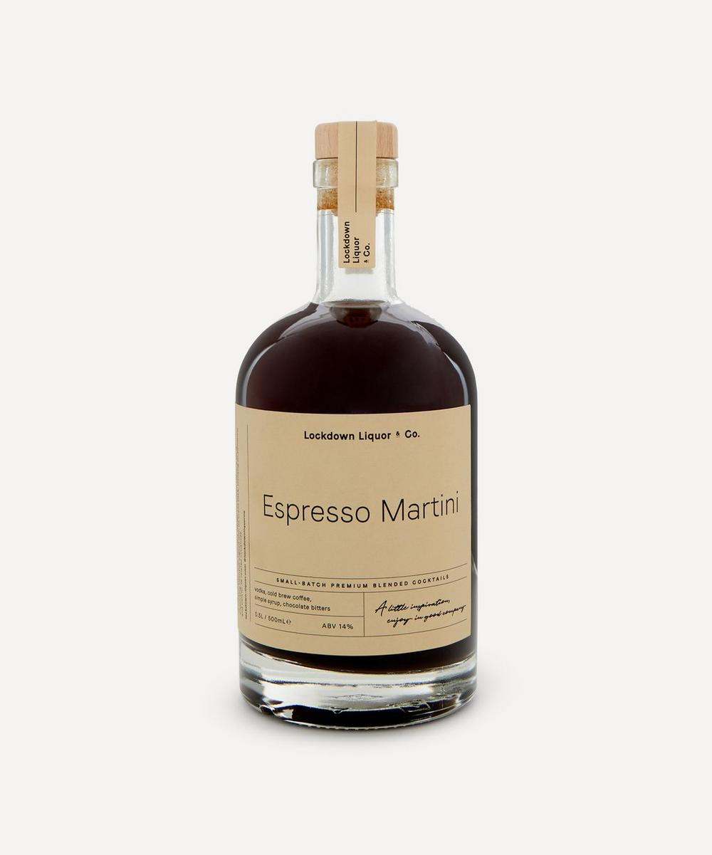 Lockdown Liquor & Co. - Espresso Martini Pre-Mixed Cocktail 500ml