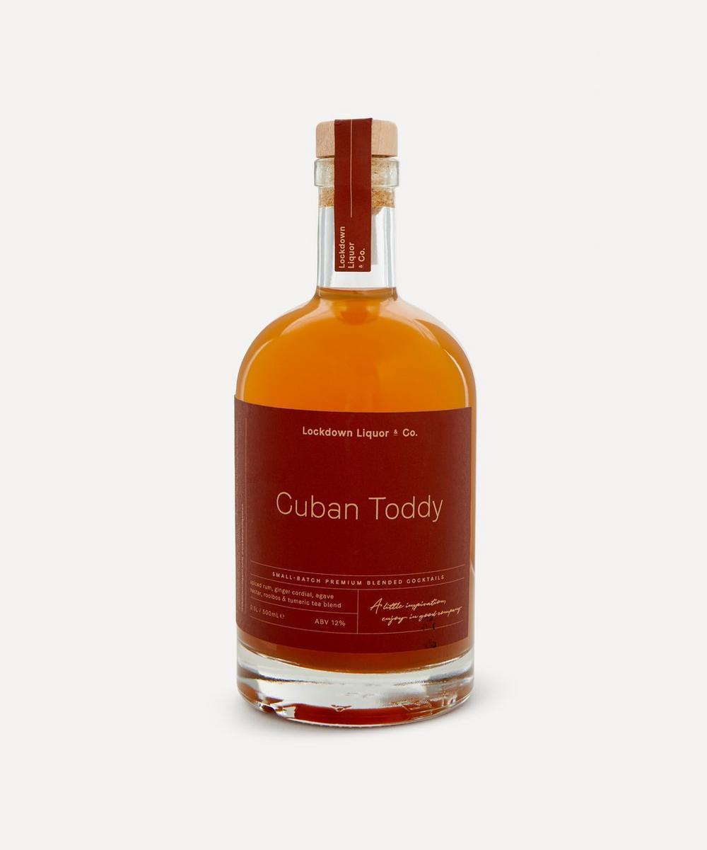 Lockdown Liquor & Co. - Cuban Toddy Pre-Mixed Cocktail 500ml