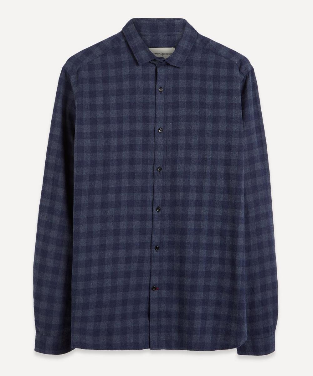 Oliver Spencer - Clerkenwell Tab Check Shirt