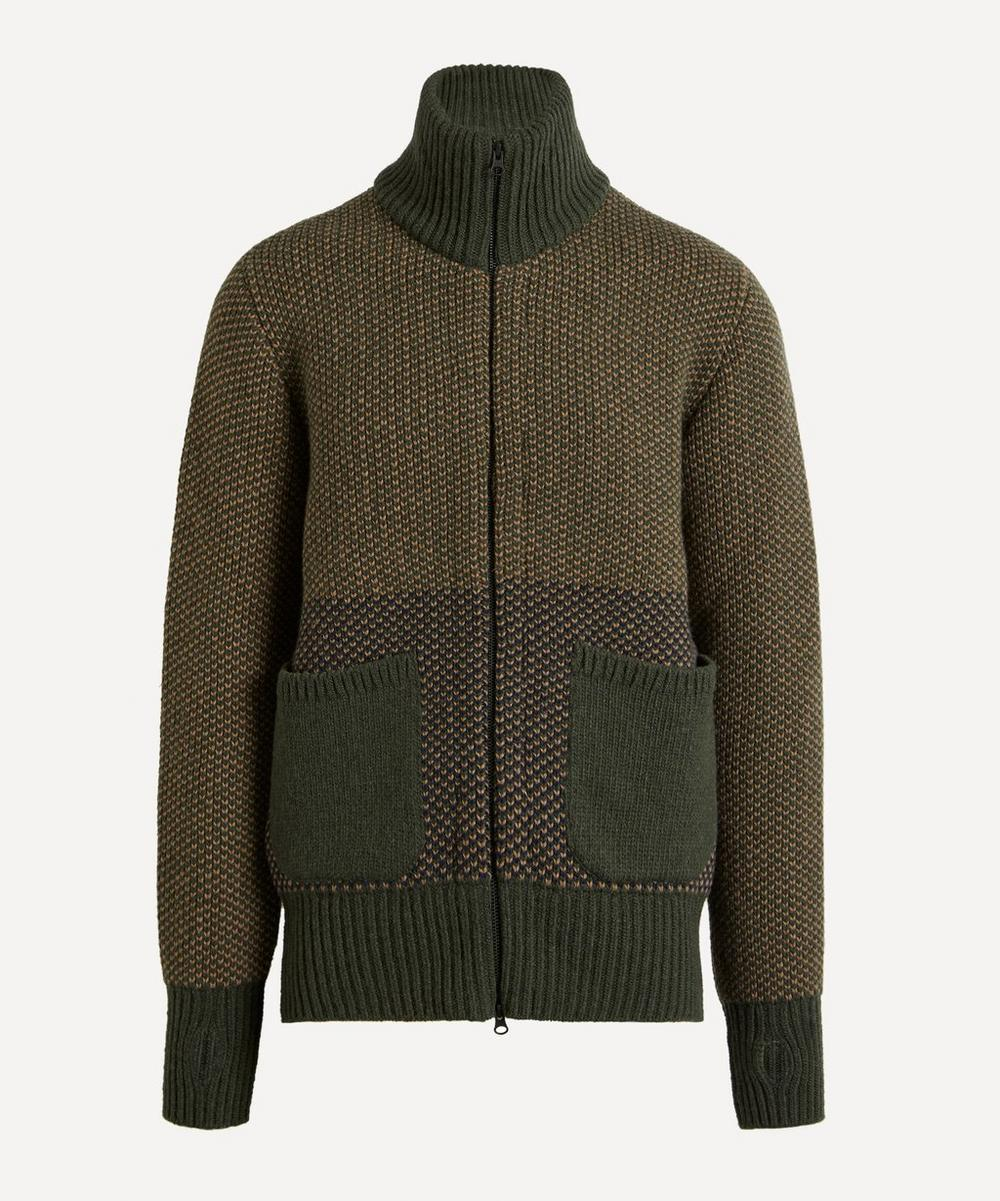 Oliver Spencer - Zip-Through Knit Cardigan