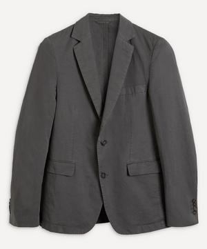 Pigment-Dye Cotton-Linen Blazer