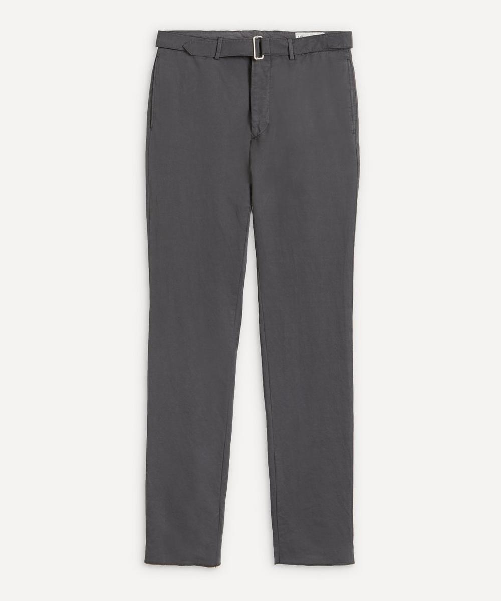 Officine Générale - Paul Cotton-Linen Trousers