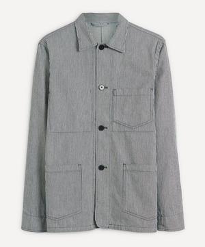 Three Pocket Stripe Chore Jacket