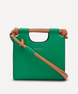Marcel Knot Small Leather Handbag