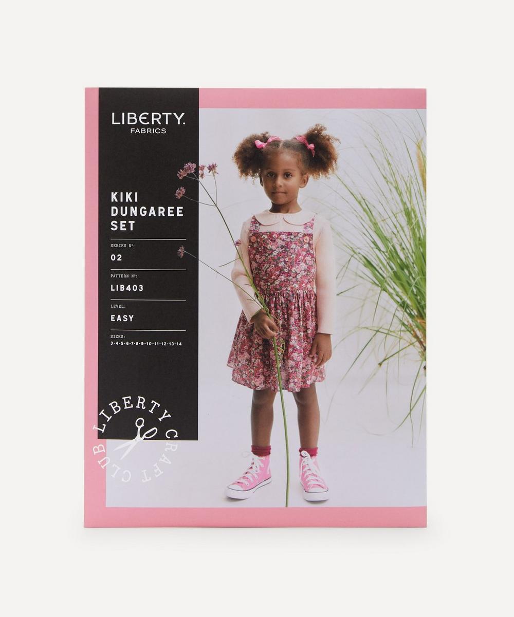 Liberty Fabrics - Kiki Dungaree Set Sewing Pattern Ages 3-14 Years