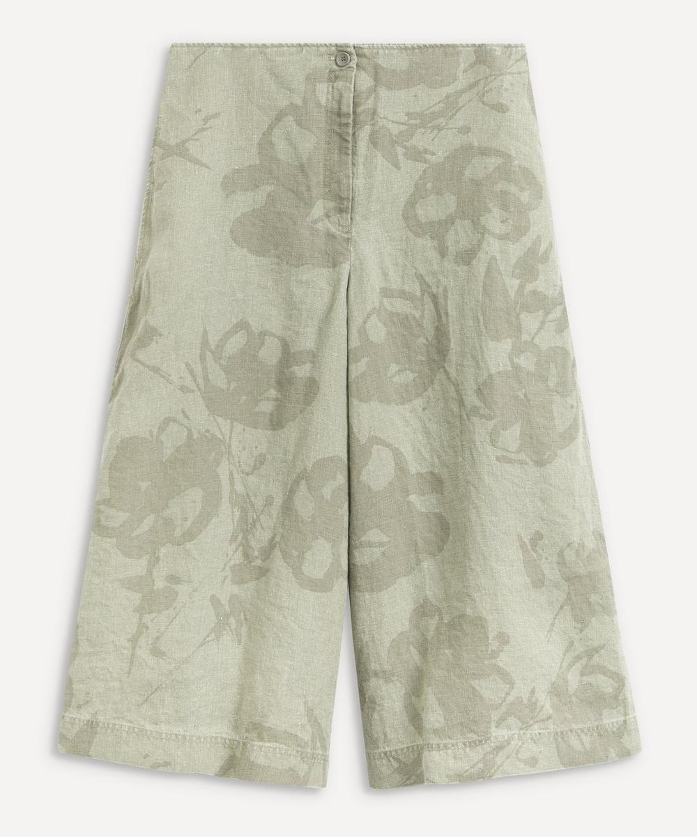 Oska - Vakuste Printed Linen Trousers