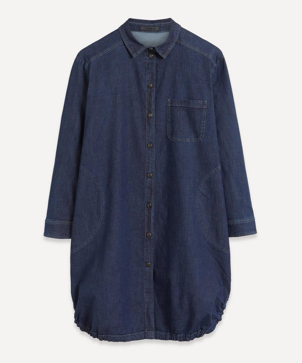 Oska - Eske Denim Tunic Dress