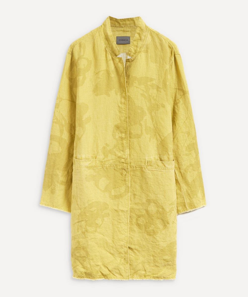 Oska - Frowe Linen Jacket