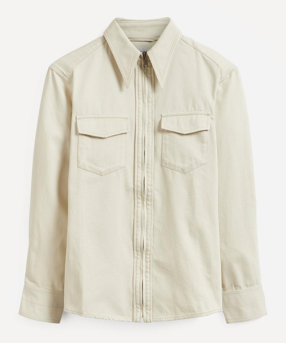 Lemaire - Denim Zipped Shirt