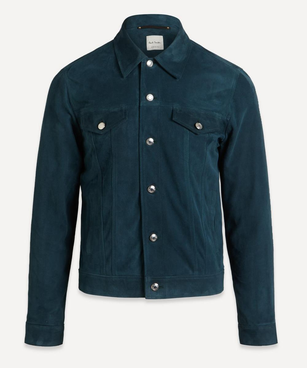 Paul Smith - Suede Trucker Jacket