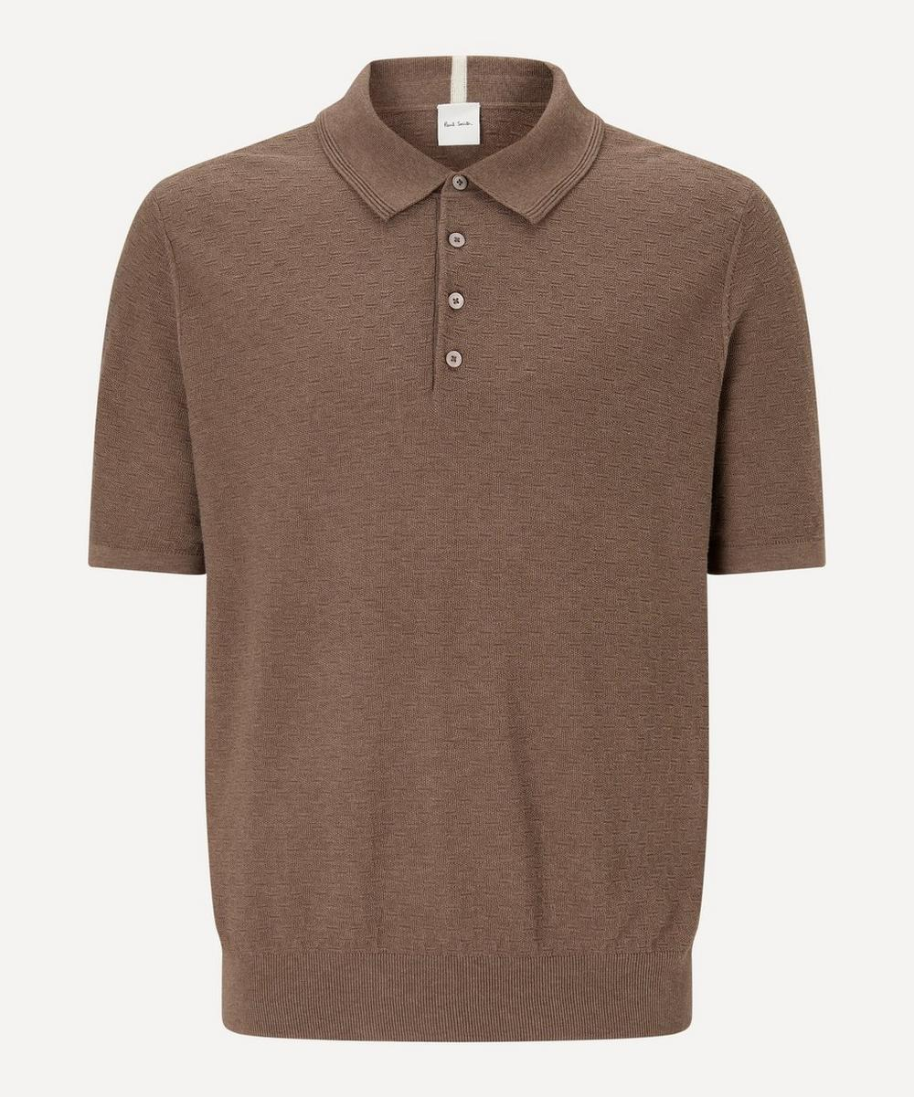 Paul Smith - Knitted Polo-Shirt