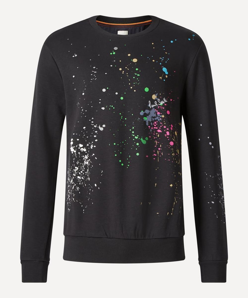 Paul Smith - Paint Splatter Sweatshirt