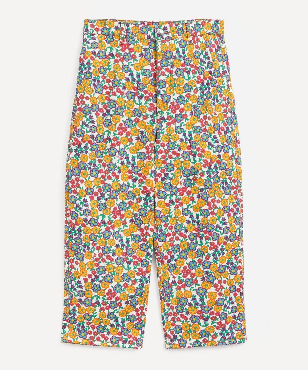 Marni - Floral Boyfriend Jeans