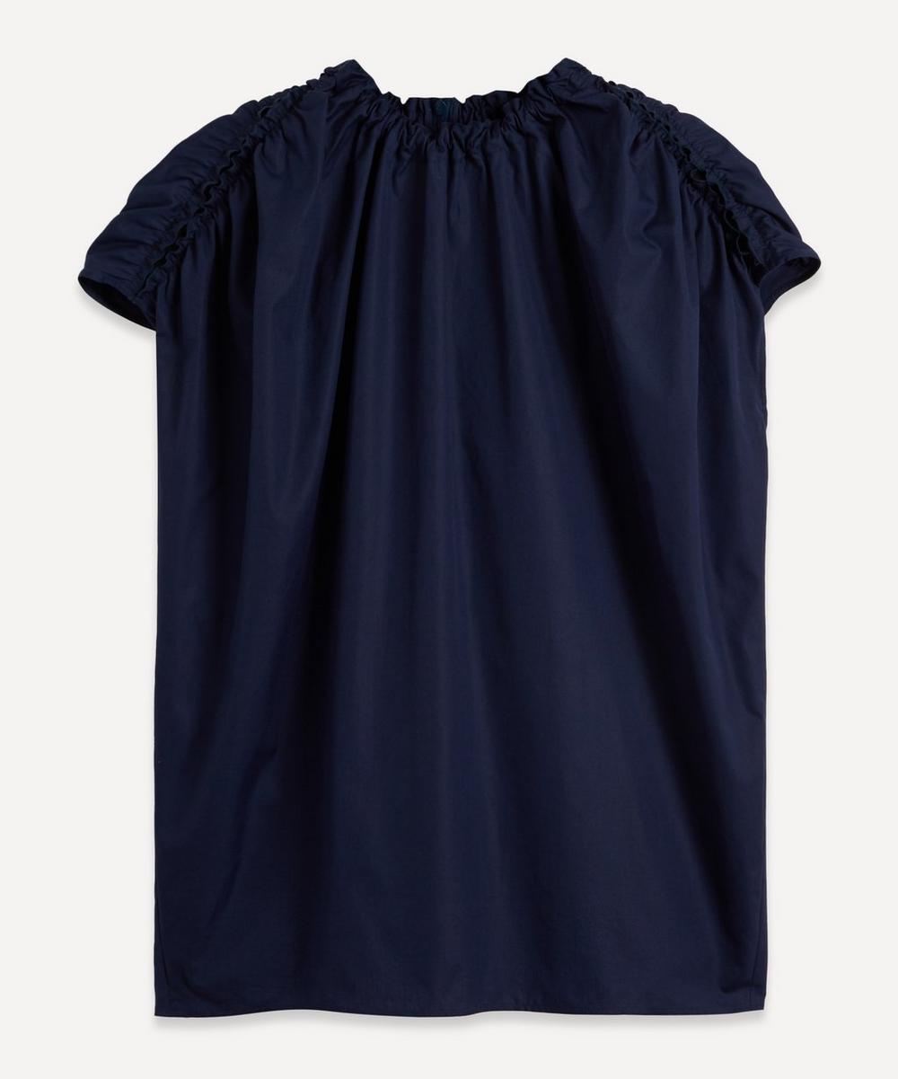 Marni - Circular Ruched Cotton Top