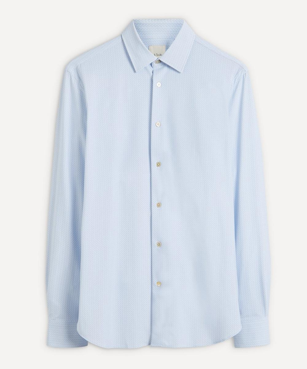 Paul Smith - Micro-Pattern Cotton Shirt