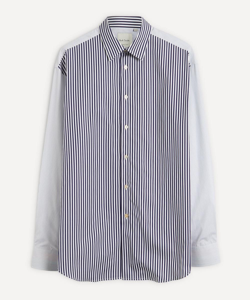 Paul Smith - Contrast Stripe Cotton Shirt