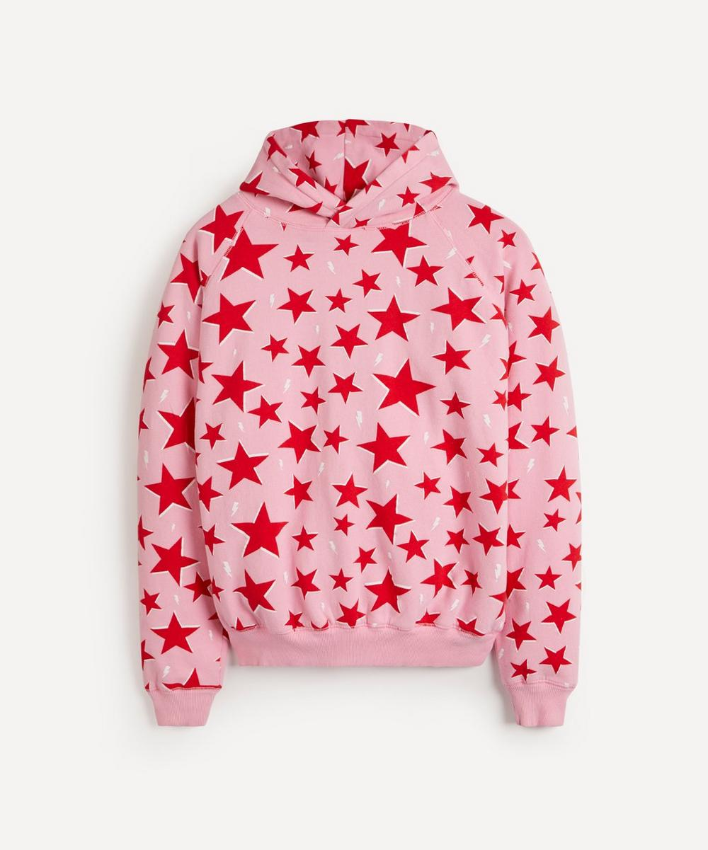 Scamp & Dude - Star and Lightning Print Super Soft Hoodie