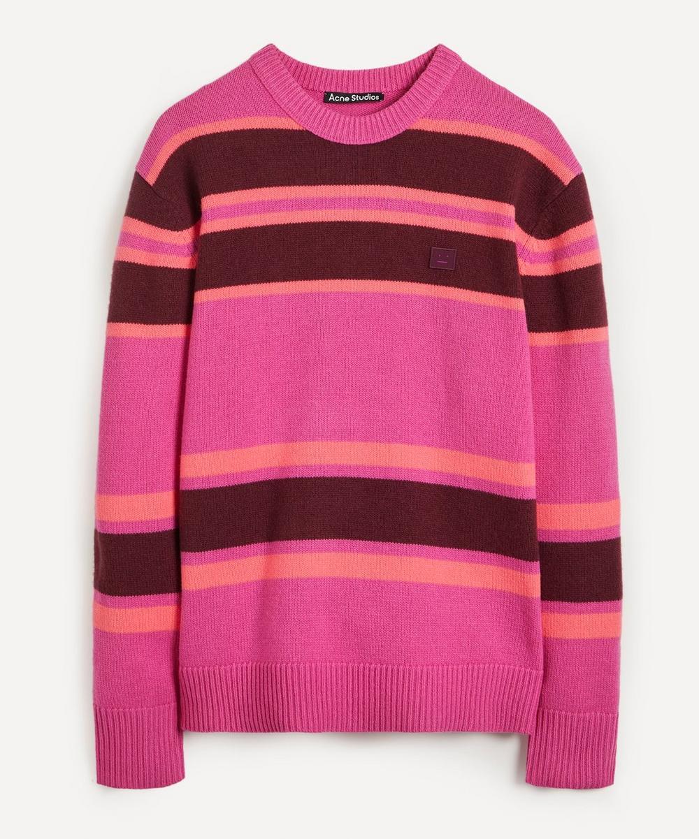 Acne Studios - Face Stripe Sweater
