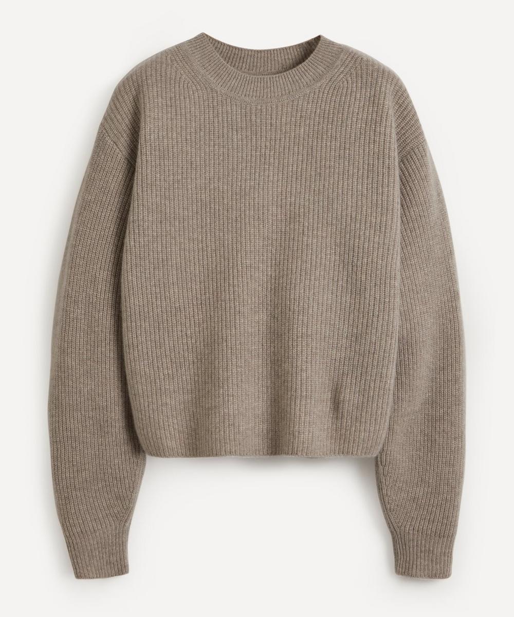 Le Kasha - Ribbed Crew-Neck Cashmere Sweater